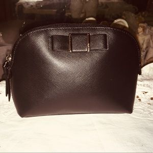 Coach Leather Cosmetic Makeup Bag